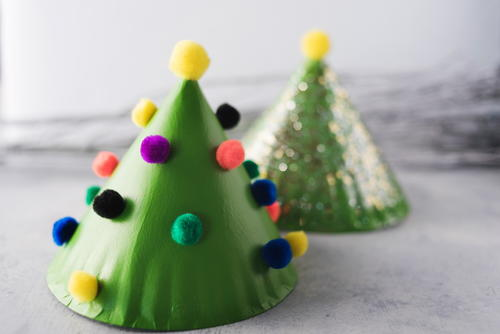 Miniature Christmas Tree DIY Decoration