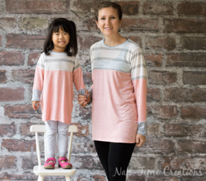 Mommy and Me Free Tunic Pattern
