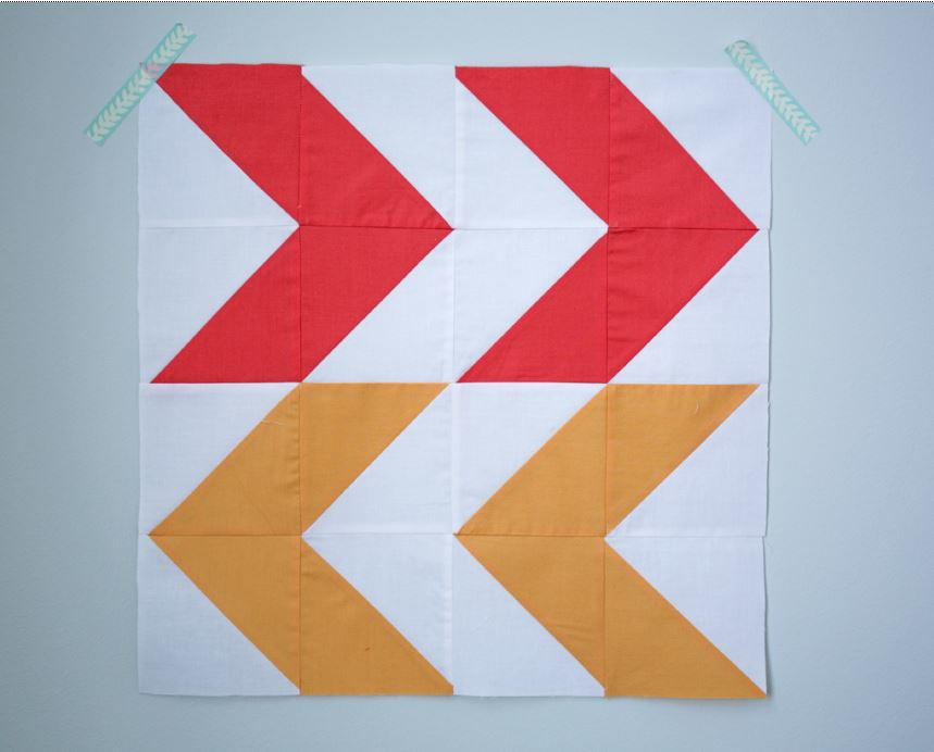 Double Arrow Block Tutorial Favequilts Com