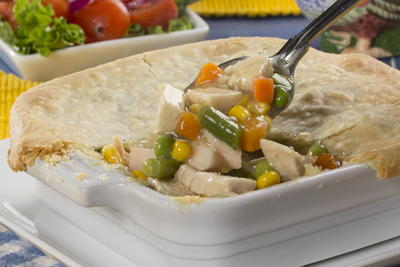 Shortcut Chicken Pot Pies