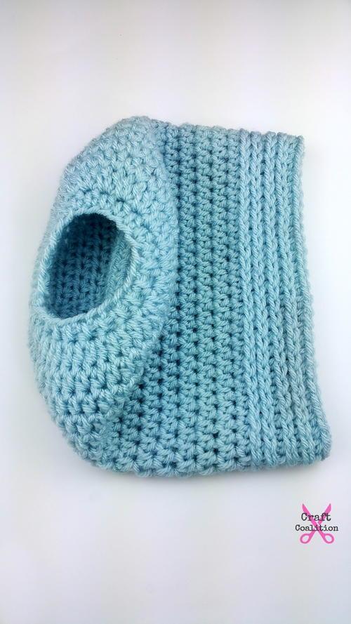cab35453d4a Simplicity Crochet Bun Hat