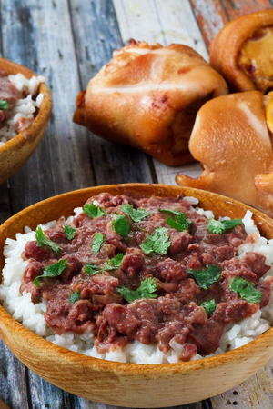 Copycat Popeye's Red Beans and Rice