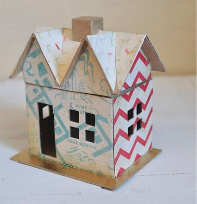 Boys Scrapbook Paper Craft House