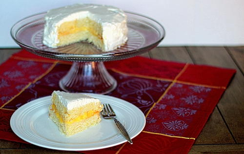 Lovely Lemon Layer Cake Recipe