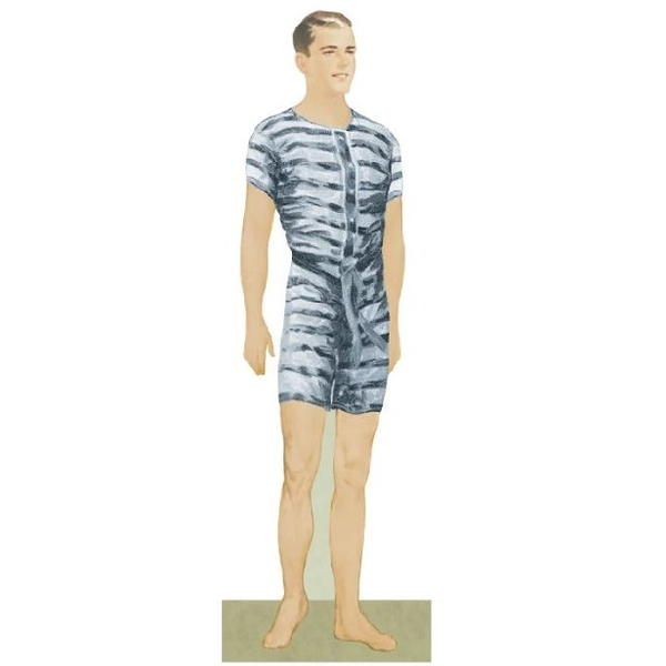 Thomas DeHaven Printable Paper Doll