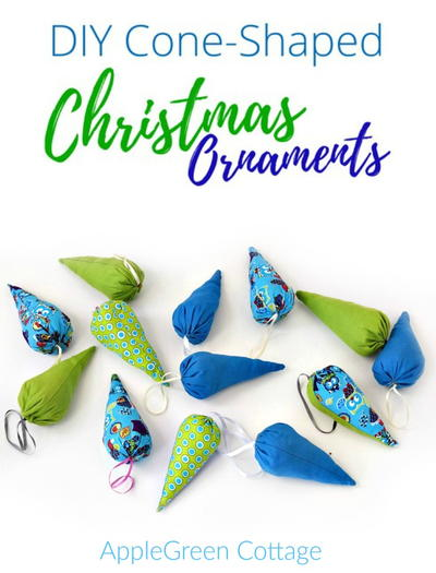 Last Minute DIY Christmas Ornaments
