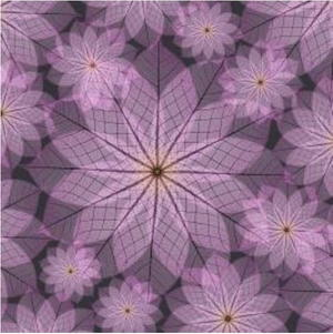 picture about Printable Origami Paper titled Pink Flower Printable Origami Paper
