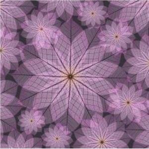photograph regarding Origami Paper Printable identified as Crimson Flower Printable Origami Paper