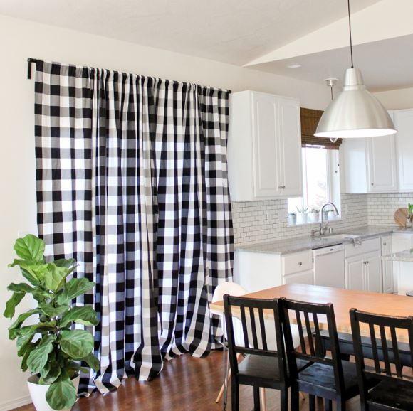 strikingly simple floor length diy drapes diyideacenter