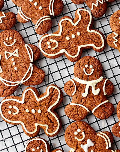 Super Easy Gluten Free Gingerbread Cookies