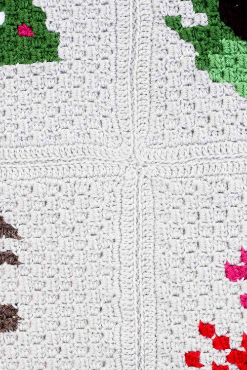 How To Join Corner to Corner Afghan Squares