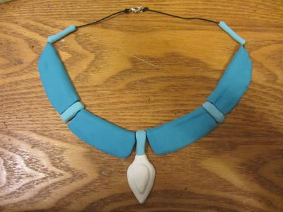 Pocahontas Inspired Clay Necklace