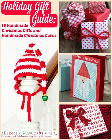 Handmade Christmas Gifts and Handmade Christmas Cards