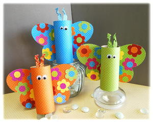 Spring Toilet Paper Roll Butterfly Allfreeholidaycrafts Com