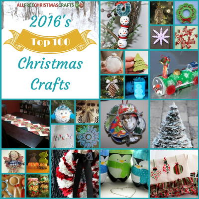 2016s Top 100 Christmas Crafts