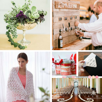 The Top 100 DIY Wedding Crafts You Loved in 2016