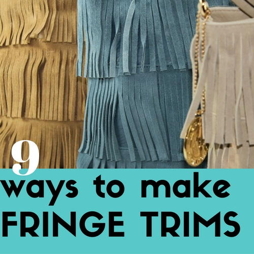 9 Ways to Make Fringe Trims