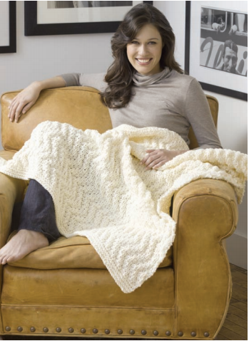 Quick Knit Blanket