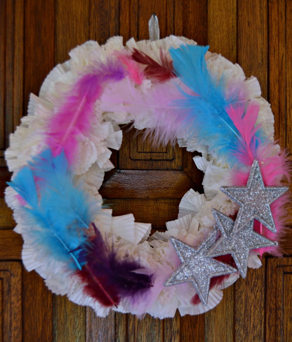Stars and Feathers DIY Christmas