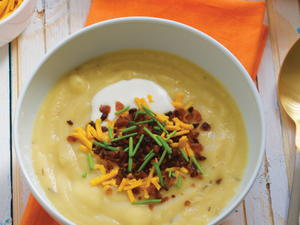 Loaded Potato Soup with Bacon