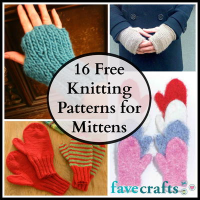 16 Free Knitting Patterns for Mitterns