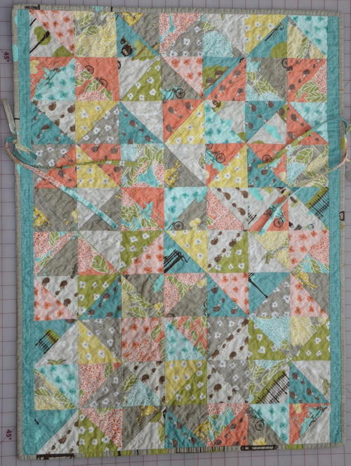 Bluebird Park Car Seat Quilt Tutorial