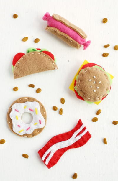 Junk Food DIY Cat Toys
