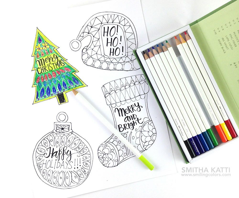 Free Coloring Holiday Gift Tags FaveCrafts