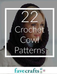 How to Make a Crochet Cowl: 22 Free Patterns