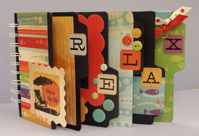 Mix It Up Scrapbook Album