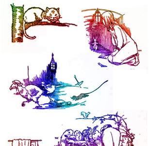 image regarding Alice in Wonderland Printable called Alice in just Wonderland Printables (Fixed 1)
