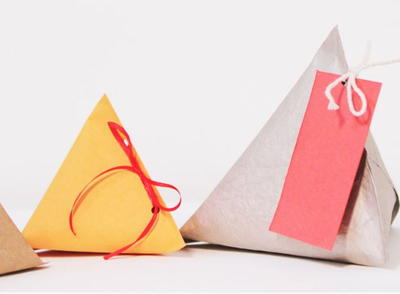 Thrifty Triangle Gift Box Idea