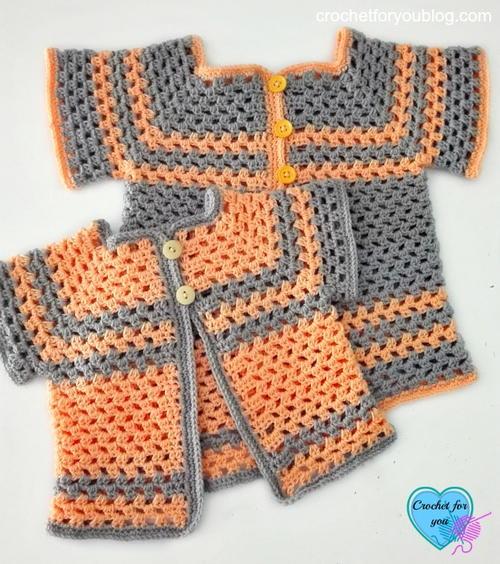 2c3b8d2ac419 Lil Darlin Baby Cardigan Pattern in Multiple Sizes
