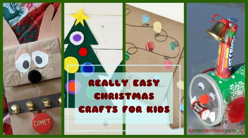 38 Really Easy Christmas Crafts