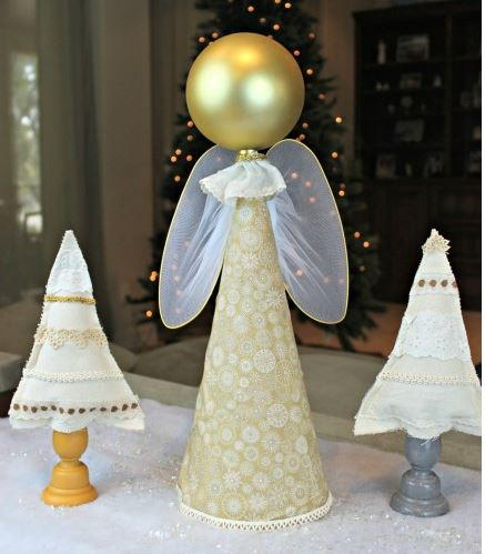 So Simple DIY Angel Decoration