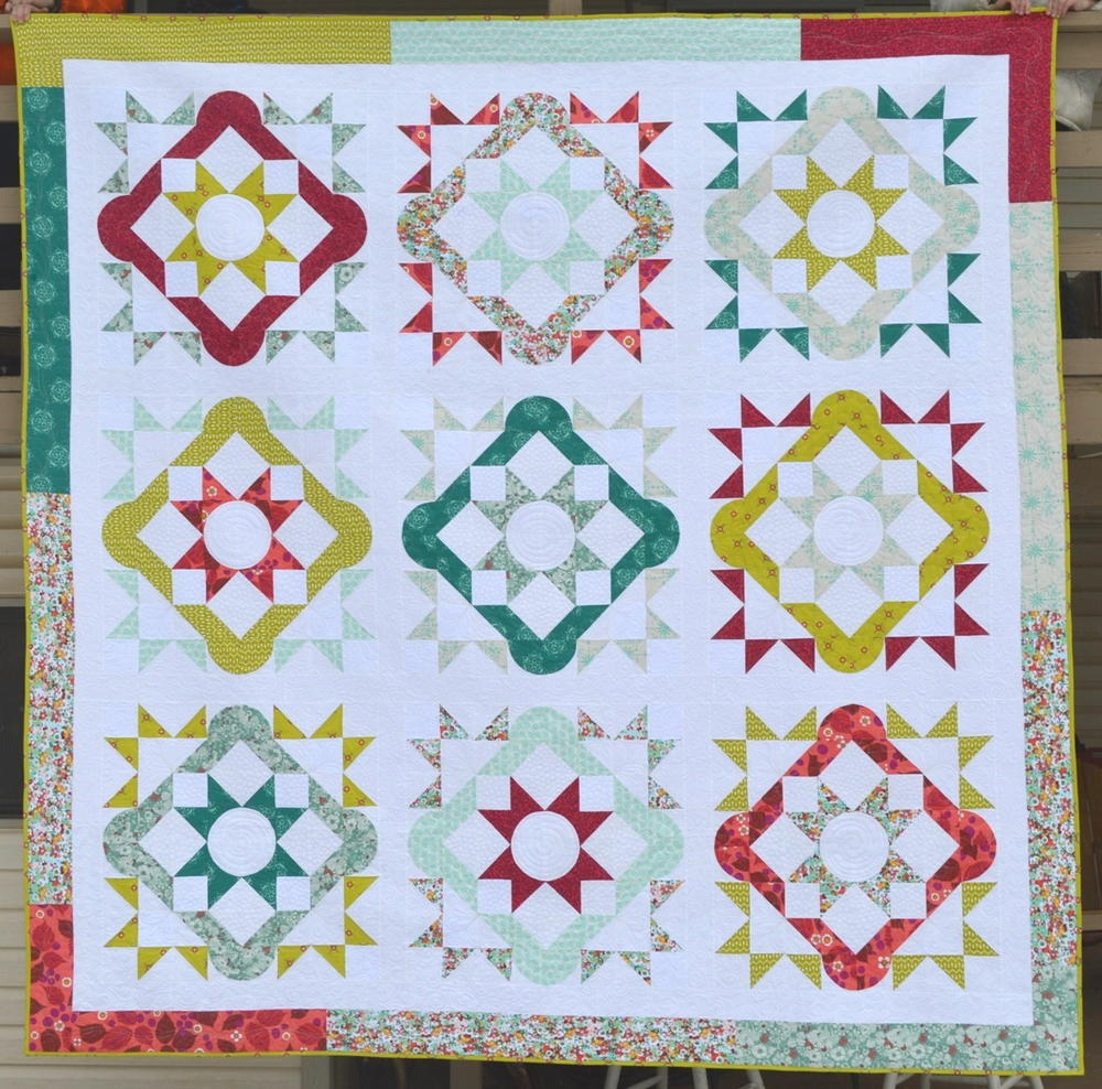 Summer Solstice Quilt Tutorial Favequilts Com