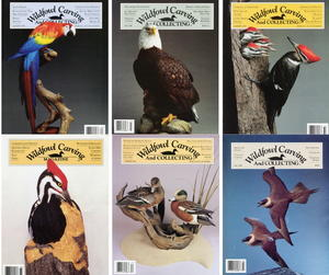 1990-1999 Issues of Wildfowl Carving Magazine