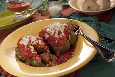 Old-Fashioned Stuffed Peppers