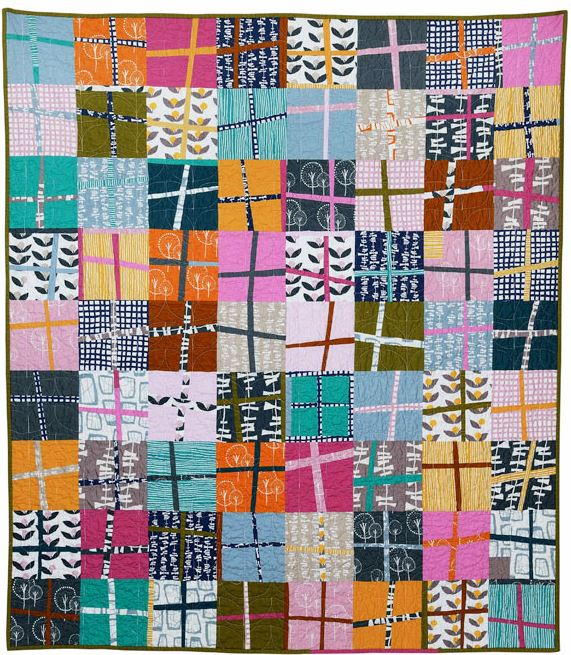 Glimma Crosses Quilt Pattern