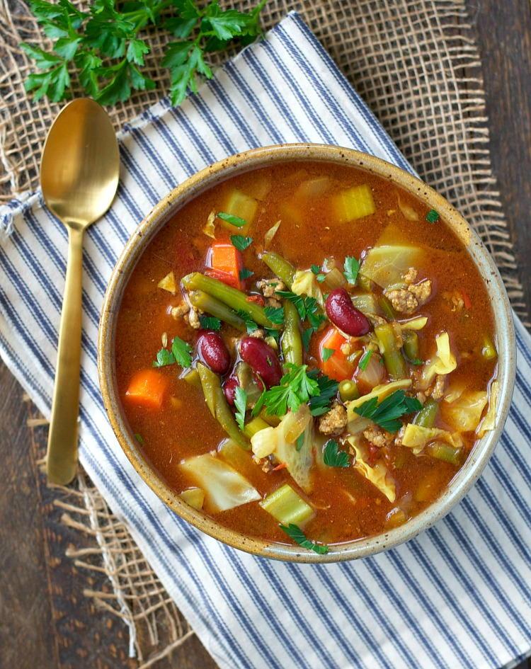 Slow Cooker Quot Cabbage Patch Quot Detox Soup Recipelion Com
