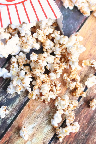 Cinnamon Honey Butter Popcorn