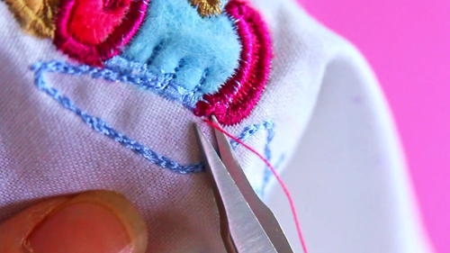 How to Trim Threads Flush to Your Fabric