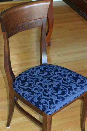 How To Upholster A Chair With Fabric