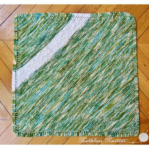 Mossy Meadow Baby Blanket