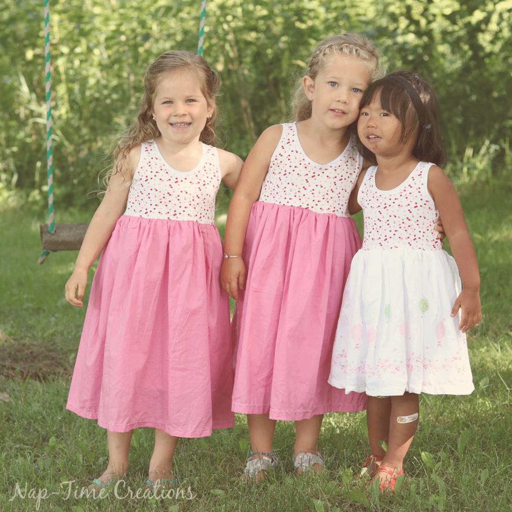 Girls Free Sundress Pattern Allfreesewing Com