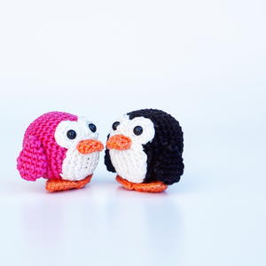 Puck the Penguin Crochet