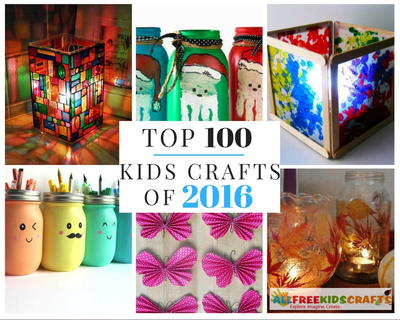 Top 100 Kids Crafts of 2016