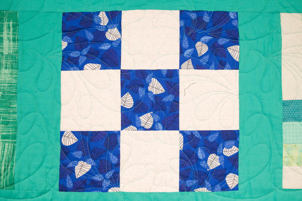 Nine Patch Quilt Block Pattern Favequilts Com