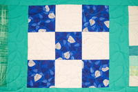 Nine Patch Quilt Block Pattern