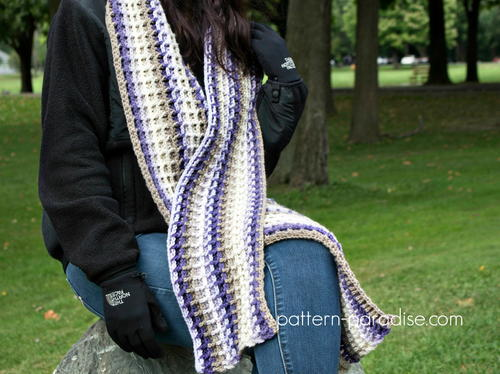 Alpine Nights Super Scarf